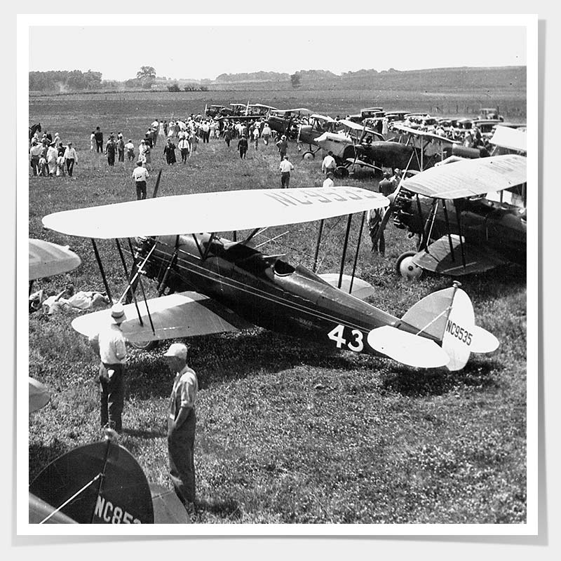 First Commercial Flight at Iowa City